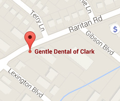 Map of Dental Office in Clark NJ