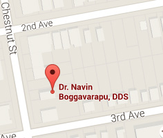 Map of Dental Office in Roselle NJ